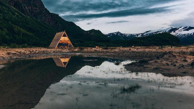 Agora Sauna in Sandhornøya, Noorwegen