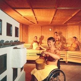 Overzicht rolstoelvriendelijke sauna's Nederland