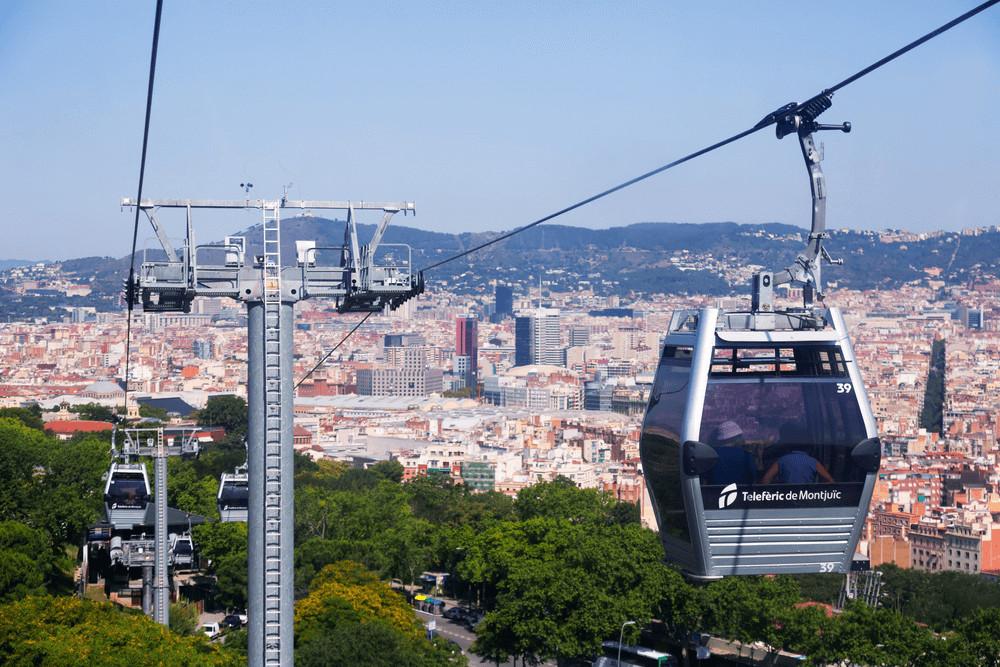 Ontspannen op de top van Montjuïc