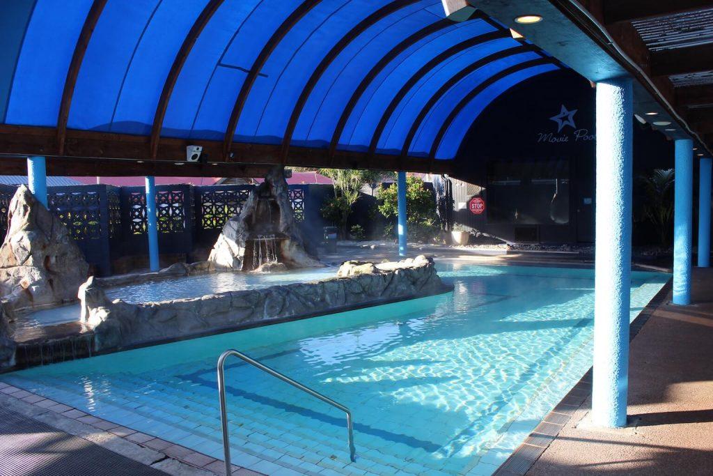 Helende werking in Waiwera Thermal Resort