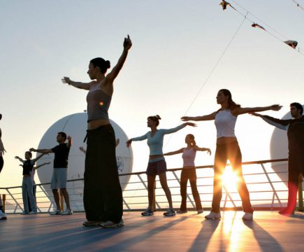Cruisevakantie als health en wellness retreat‏