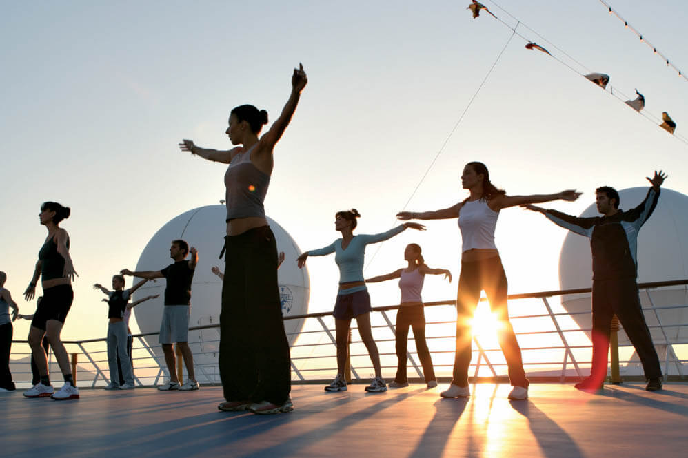 Cruisevakantie als health en wellness retreatetreat