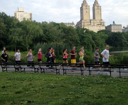 Ontdek de outdoor fitness scene van New York