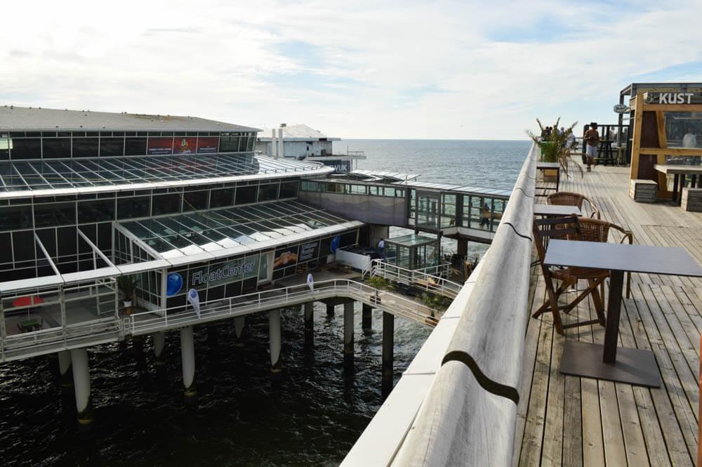 Floaten op De Pier, Scheveningen