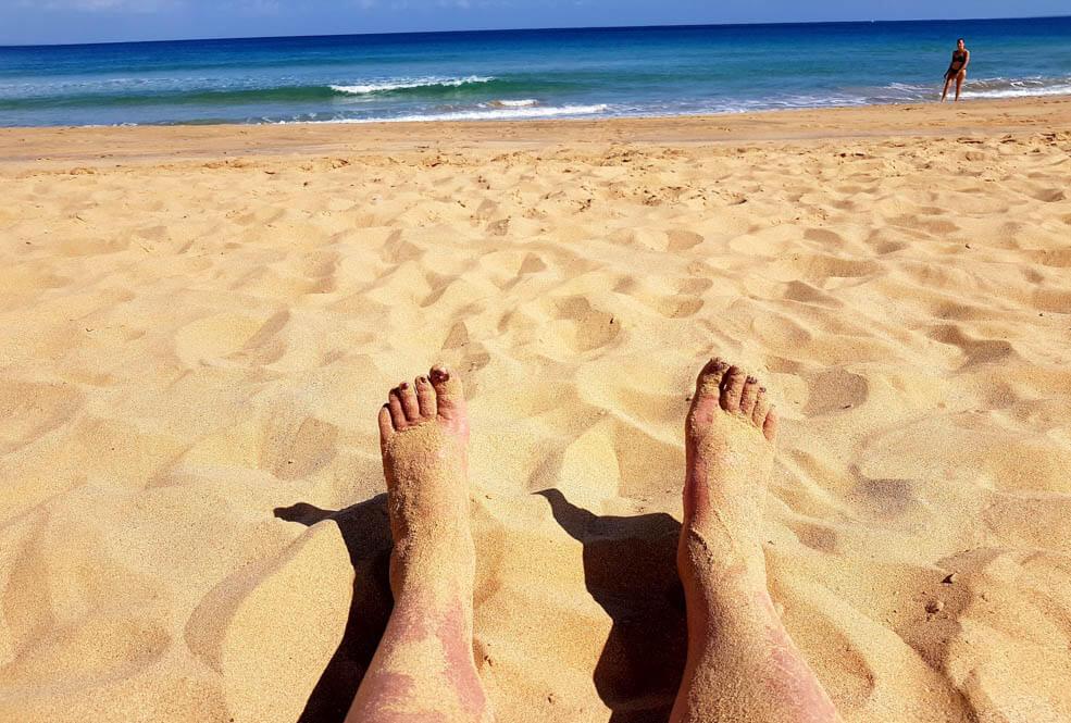Therapeutische werking zand Port Santo
