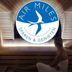 Air Miles inwisselen wellness