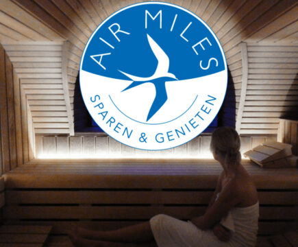 Air Miles inwisselen wellness