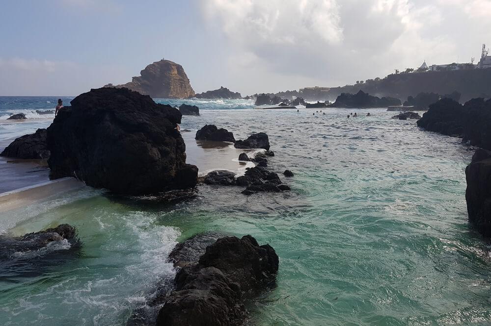 Natuurlijke zwembaden op Madeira