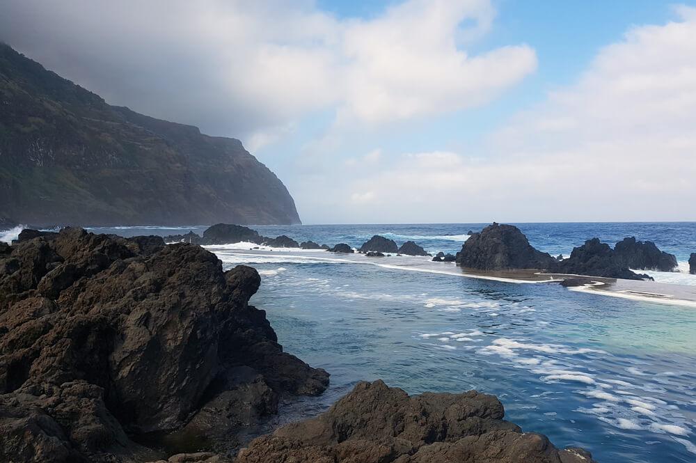 Natuurlijke baden op Madeira