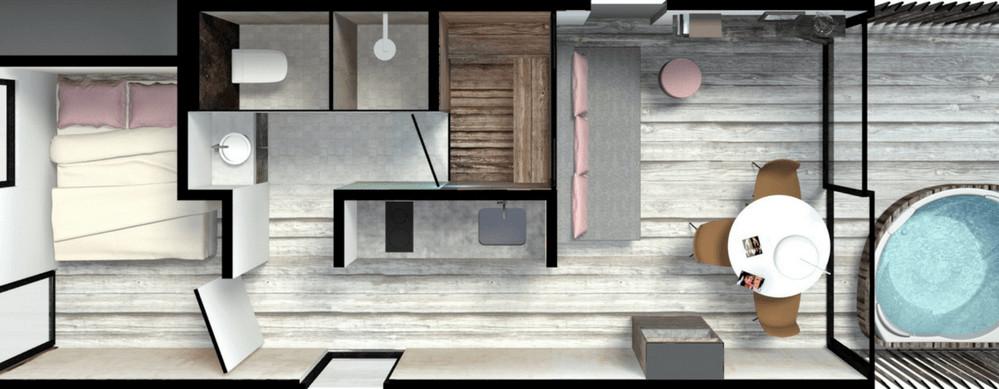 Luxe strandhuis met sauna en Jacuzzi aan zee