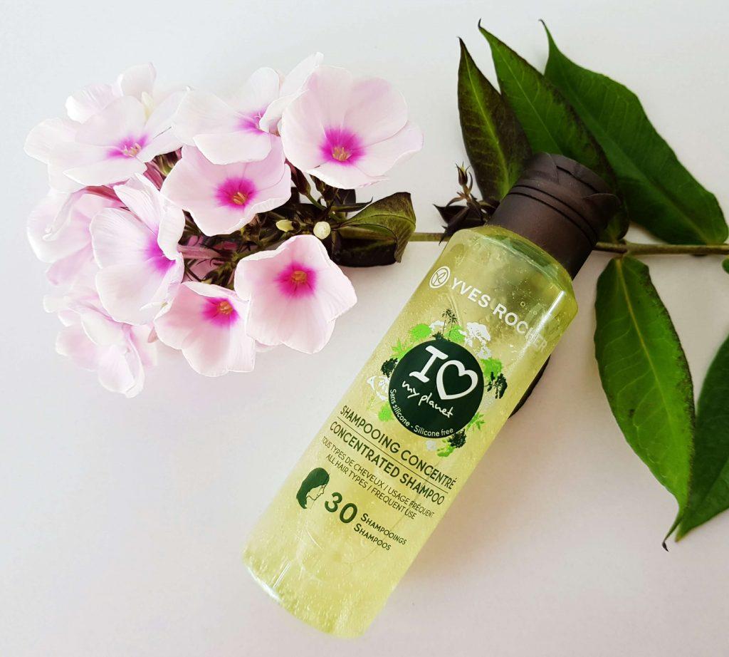 Geconcentreerde shampoo van het eco-label