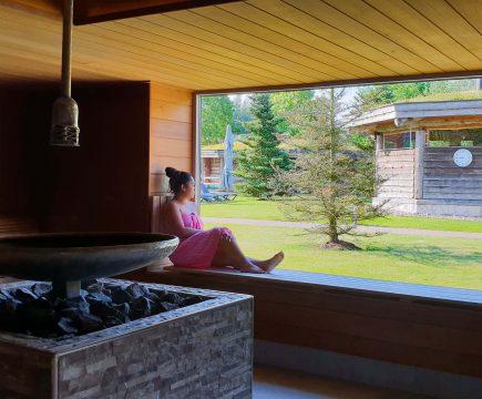 Goedkoop naar de sauna