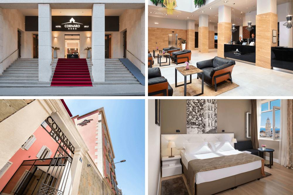 Wellness Hotel Cornaro in Split, Kroatië