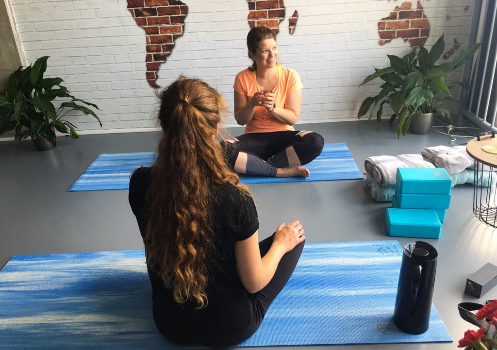Yoga aan huis, de nieuwe urban lifestyle