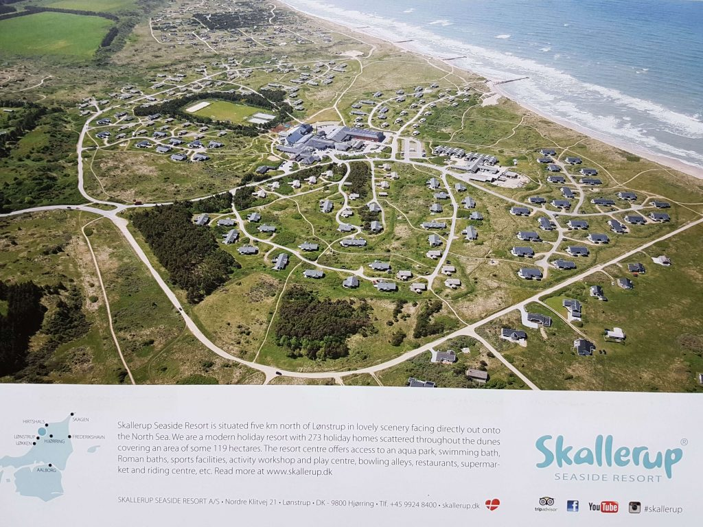 Skallerup Seaside Resort plattegrond