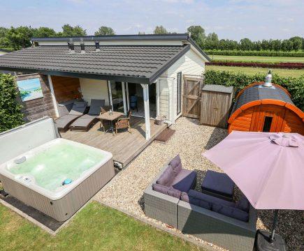 Privé Wellness Vakantiehuisje in Overijssel