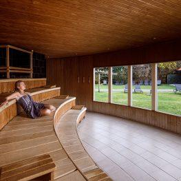 Dagje sauna bij SpaWell in Peize met korting