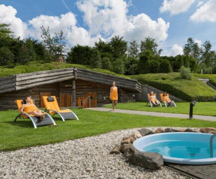 Genieten! Met korting naar Veluwse Bron sauna in Emst
