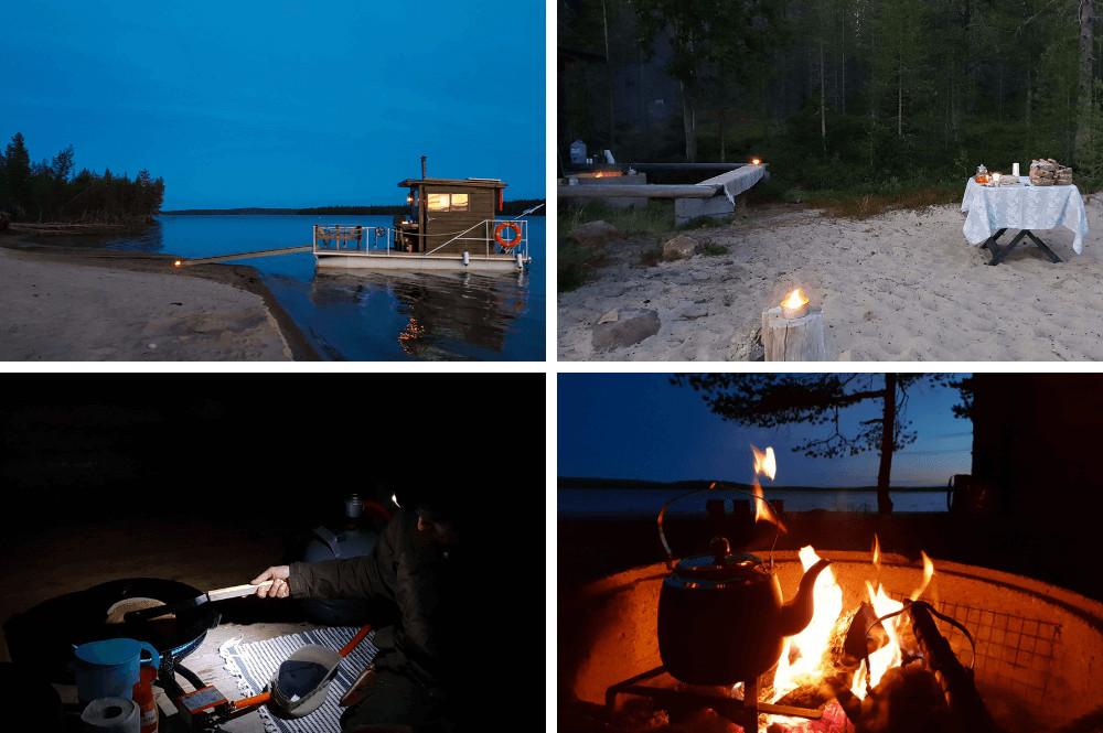 Bijzondere sauna Finland
