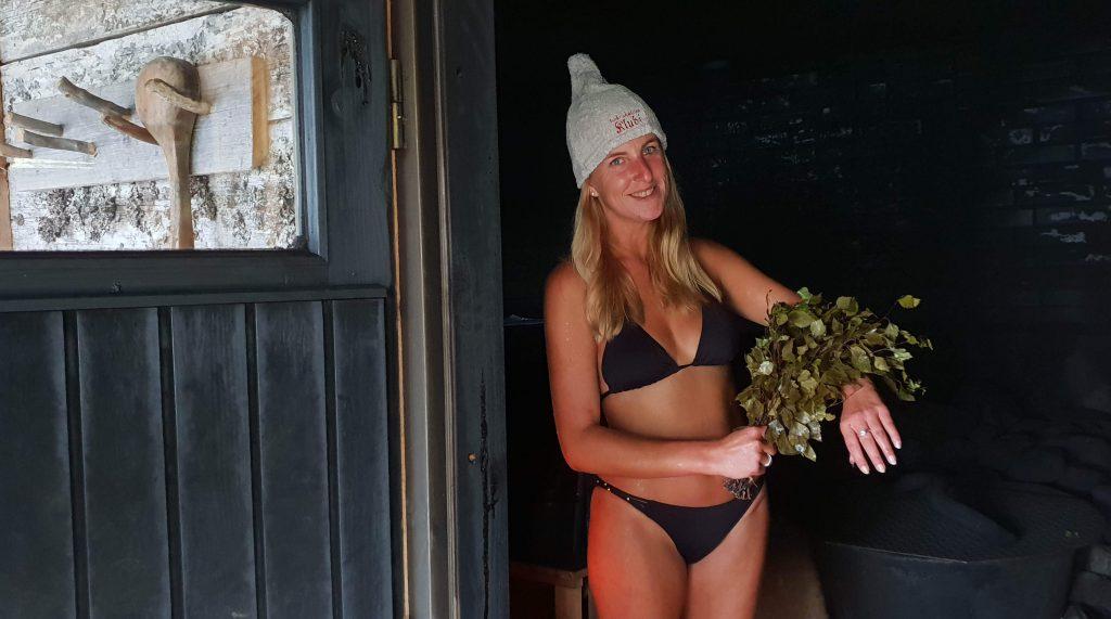 Naar de sauna in Finland