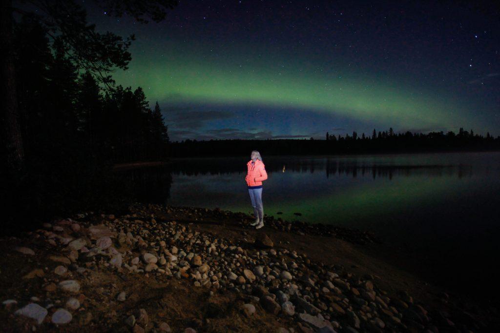 Noorderlicht zien in Fins Lapland