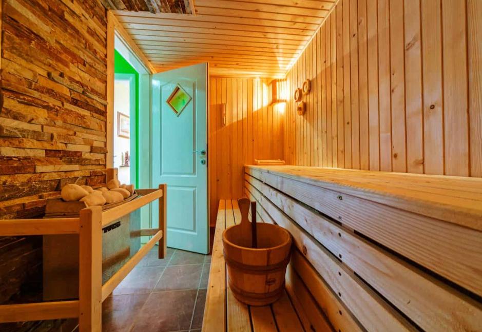 Vakantiehuis sauna