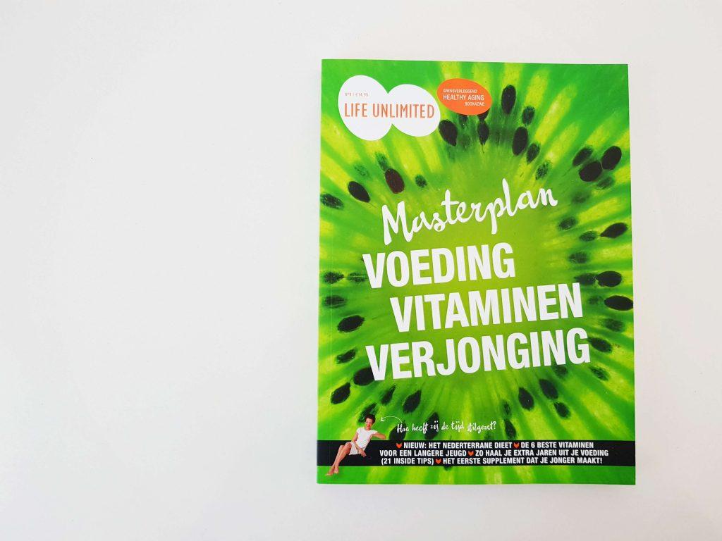 Bookazine 'Voeding, vitaminen, verjonging' - Masterplan