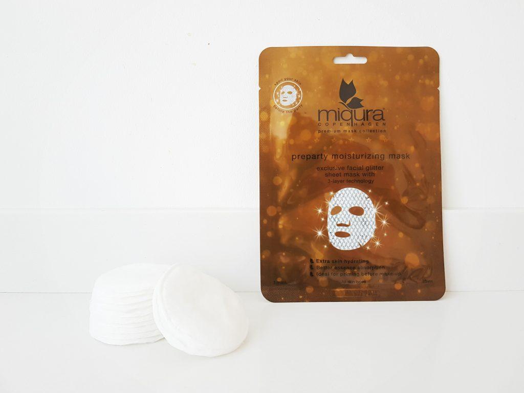 Preparty moisturizing mask van Miqura