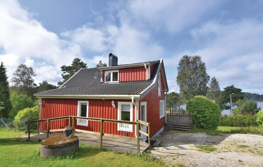 Vakantiehuis met sauna in Zweden