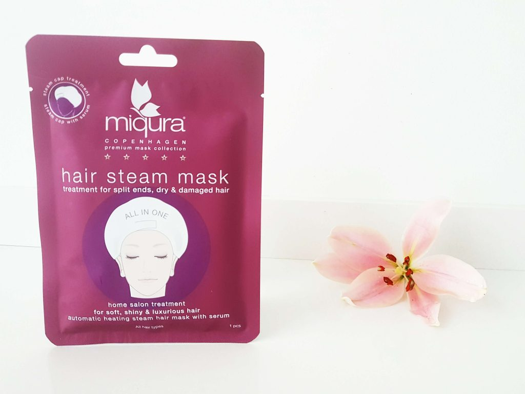 Hair steam mask van Miqura