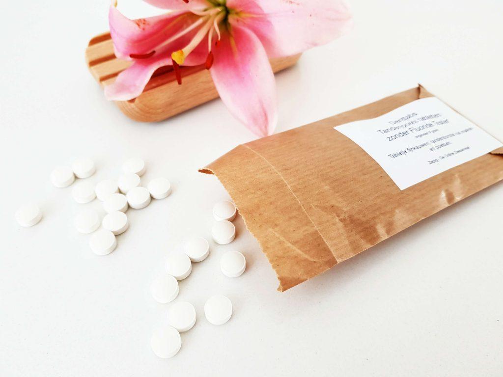 Tandenpoets tabletten van Denttabs