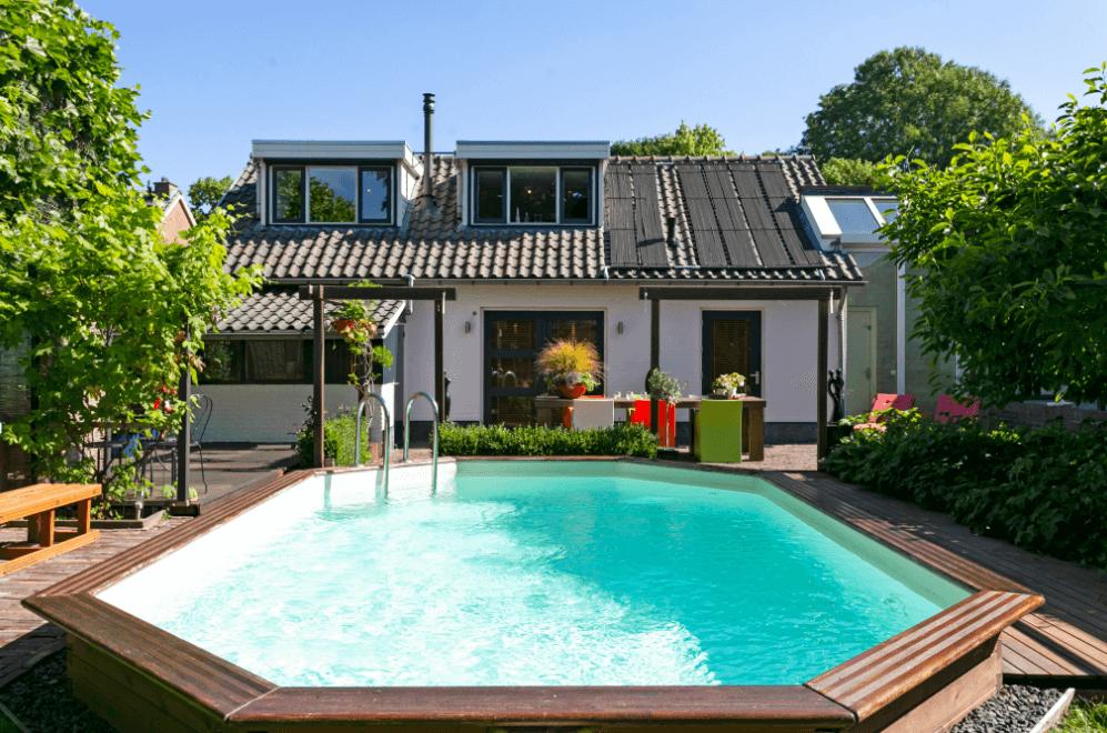 Luxe privé sauna met zwembad en overnachting