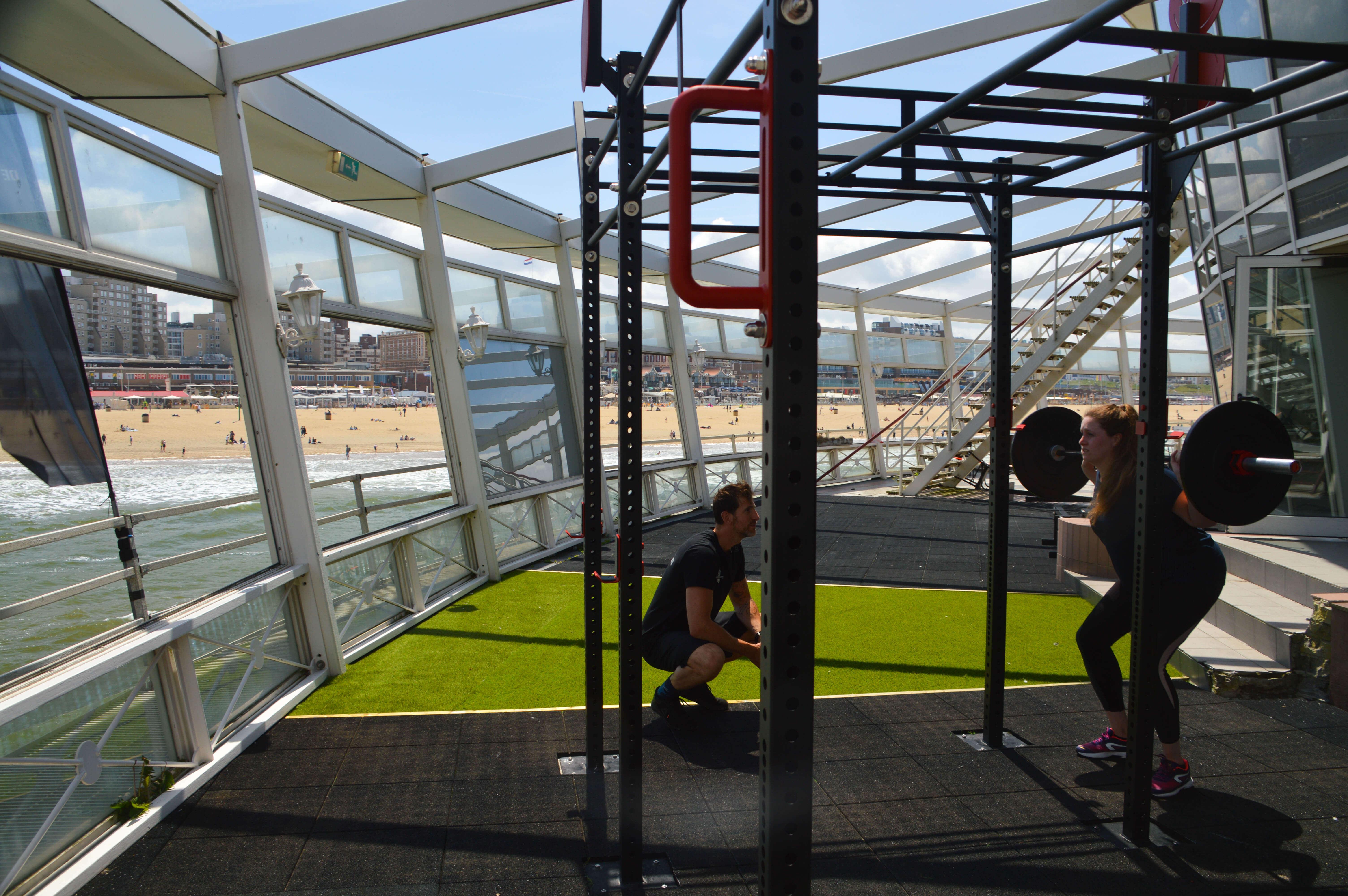Sporten met personal trainer en relaxen op Scheveningen