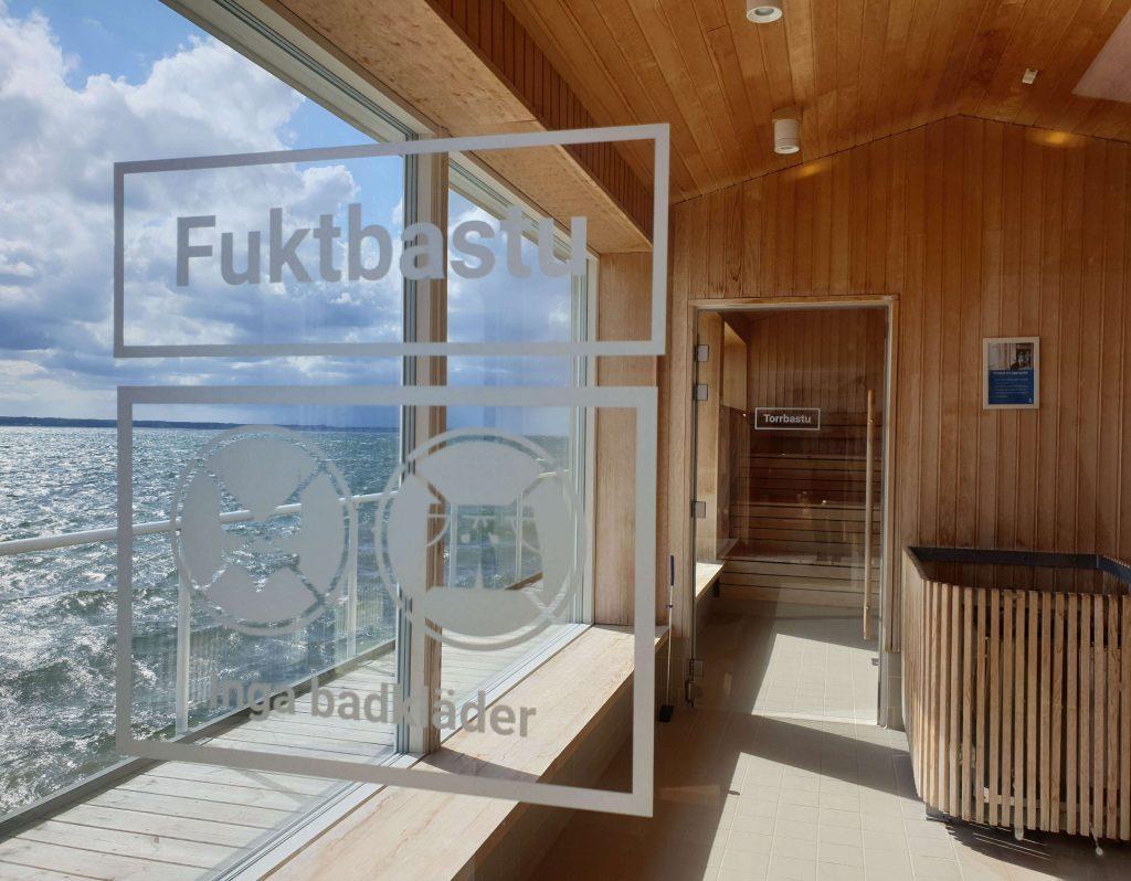 Openbare sauna in Zuid Zweden