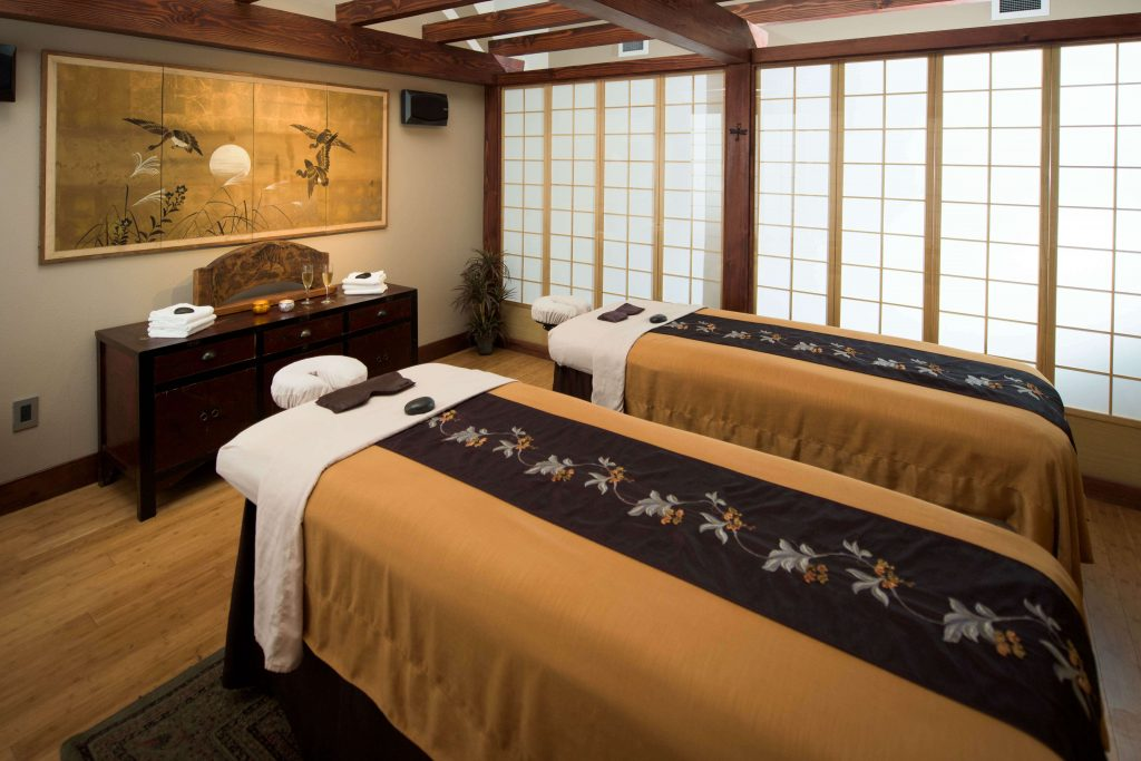 Shibui Spa is de spa van Five Pine Lodge