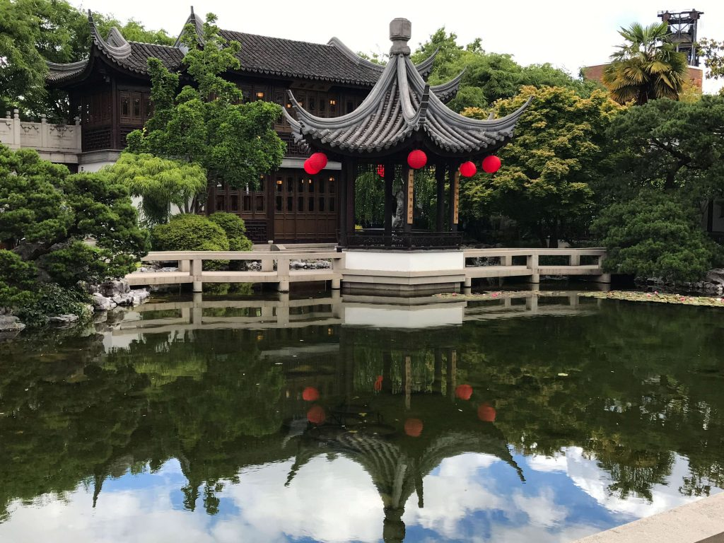 Lan Su Chinese Garden - Portland