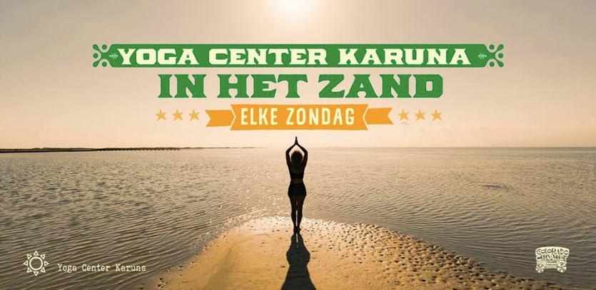 Yoga in de buitenlucht