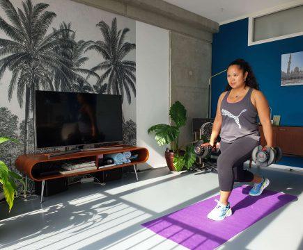 Oefeningen voor thuis sporten