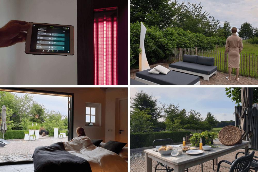 Luxe privé sauna - 'Parel in 't Groen' in Moergestel