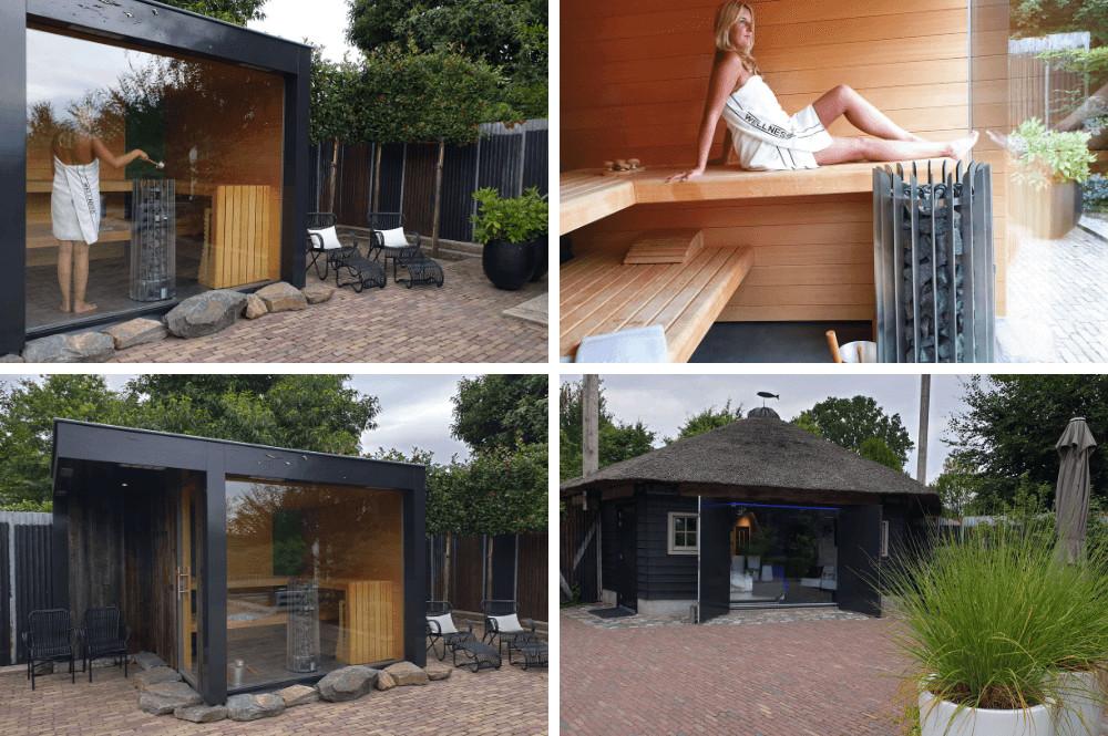 Vakantiehuisje huren met sauna