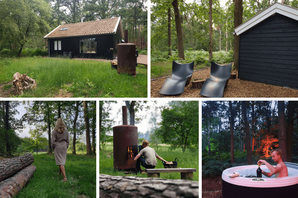 Vakantiehuisje midden in de natuur Brabant met sauna