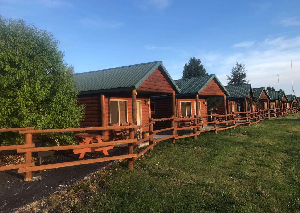 Overnacht in houten cabin in Badlands NP