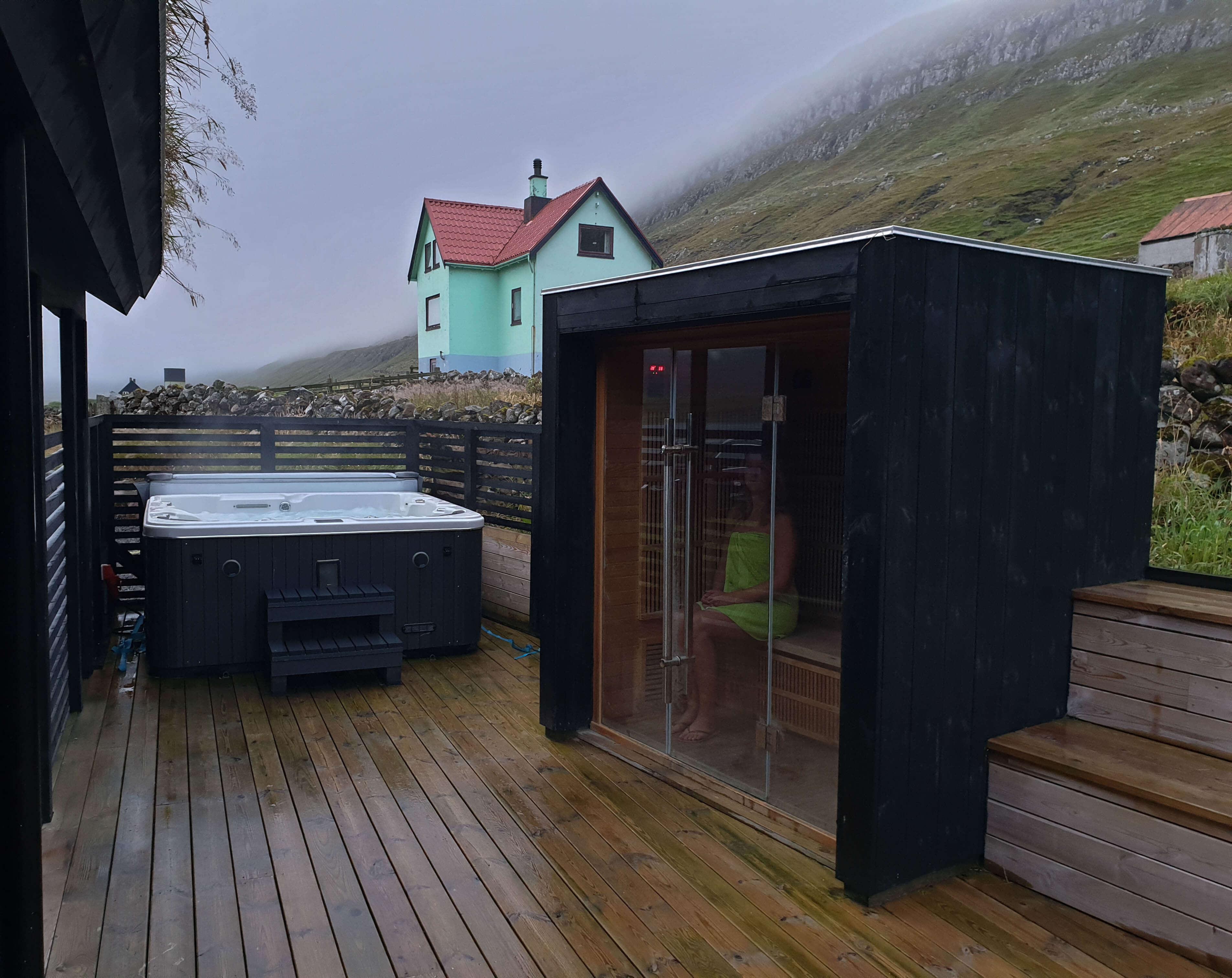 Vakantiehuis op de Faeröer Eilanden met wellness