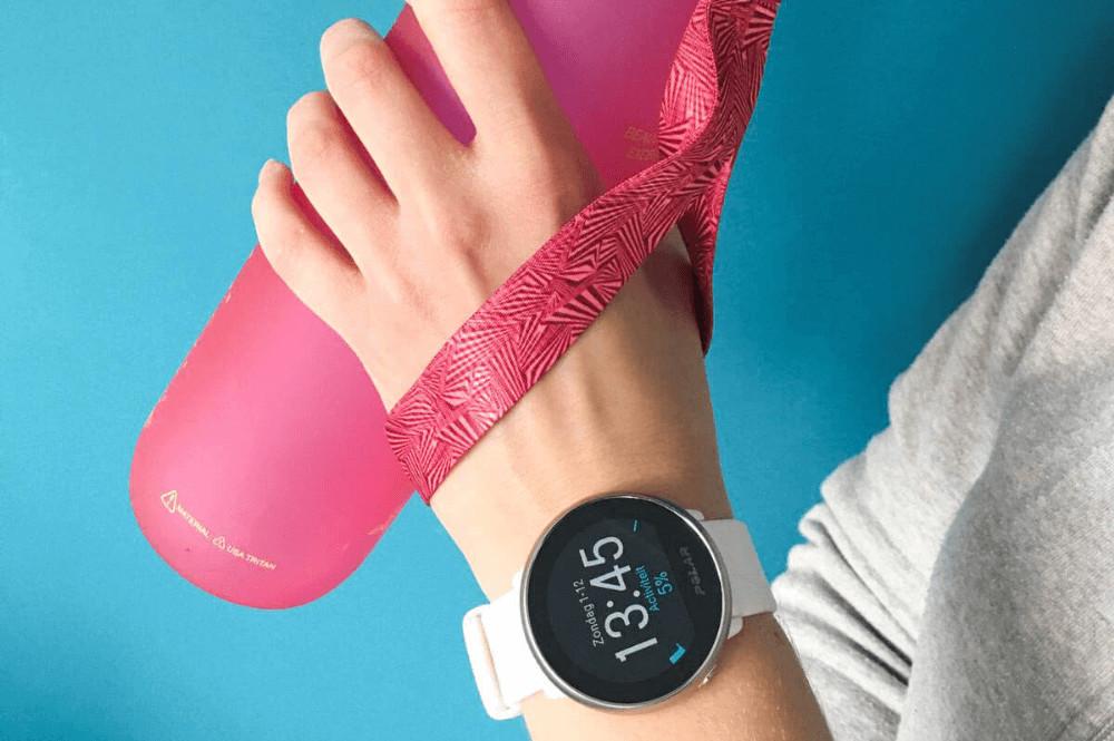 Polar fitnesshorloge met GPS