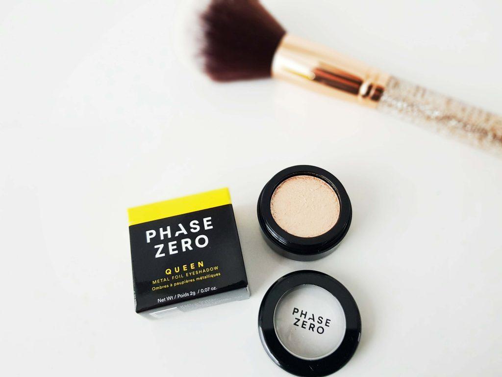eyeshadow van Phase Zero Make Up
