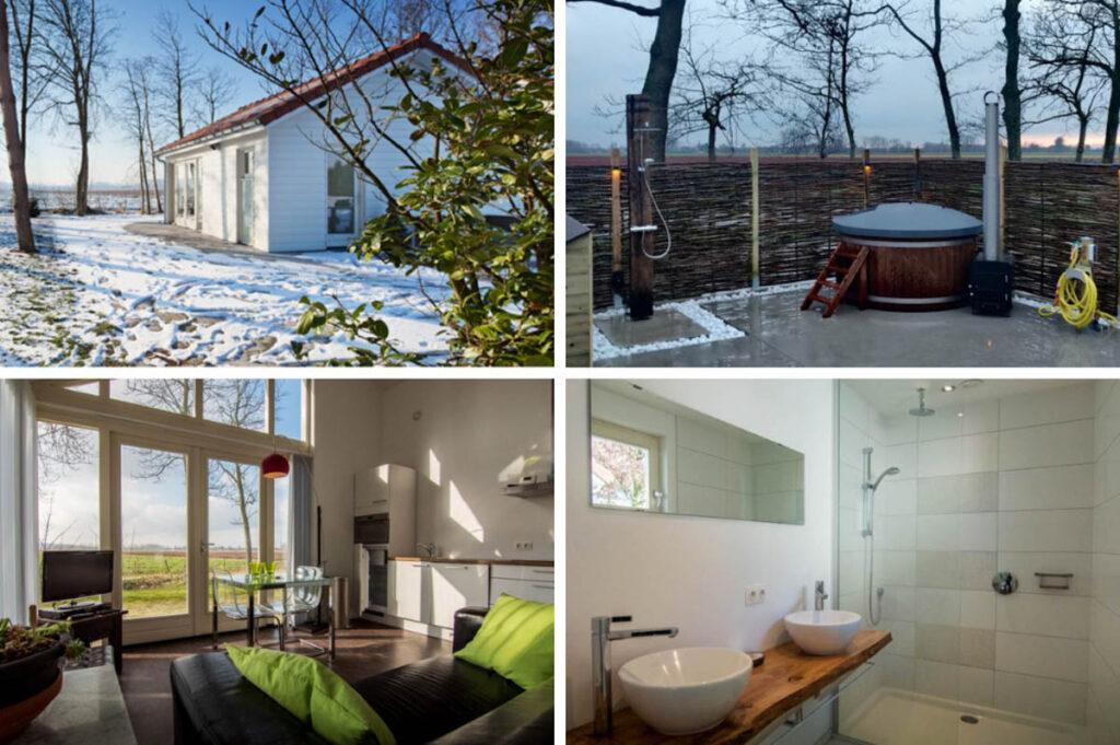 Natuurhuisje met hottub buiten in Sluis - Zeeland