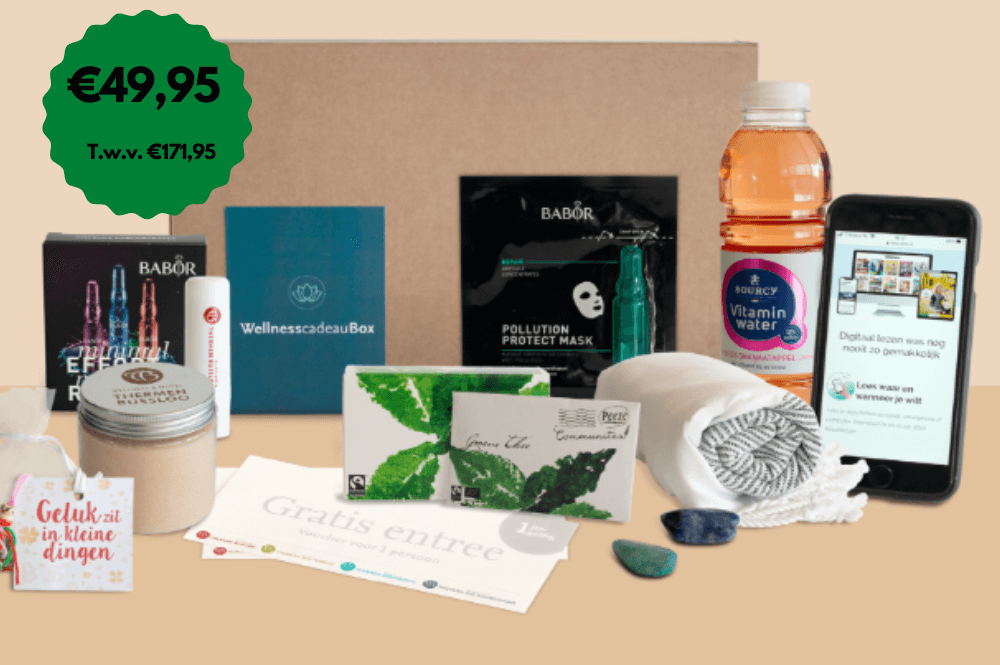Thermen Bussloo wellness cadeaubox