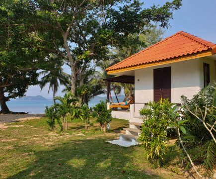 Bungalow aan het strand op Koh Mak