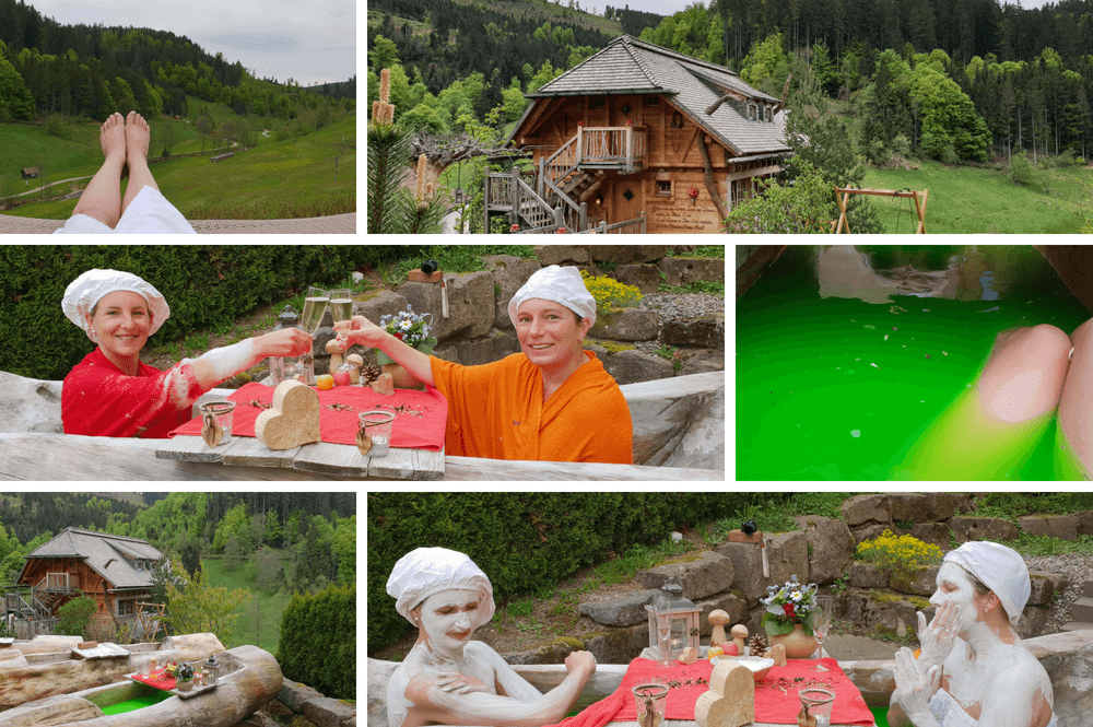 Boomhut met sauna in Duitsland