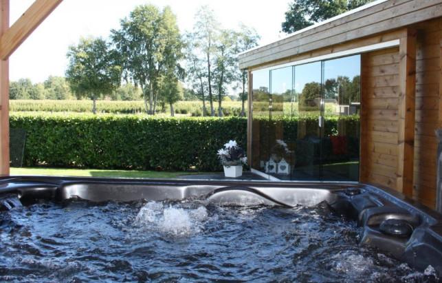 Vakantiehuis met sauna en Jacuzzi Veluwe